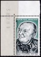Frankreich, 1987, Mi.Nr. 2587 , MNH **,  Raoul Follereau. - Unused Stamps
