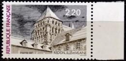 Frankreich, 1987, Mi.Nr. 2598, MNH **, Tourisme : église Abbatiale, Redon - Unused Stamps