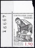 Frankreich, 1987, Mi.Nr. 2599, MNH **, Kunsthandwerk: Eisen- Und Stahlwaren,  Artisanat : Produits Sidérurgiques - Unused Stamps