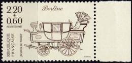 Frankreich, 1987, Mi.Nr. 2600 A A, MNH **, Tag Der Briefmarke.,  Le Jour Du Timbre. - Unused Stamps