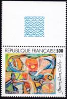 Frankreich, 1987, Mi.Nr. 2605, MNH **, Art : Peintures De Bram Van Velde - Unused Stamps