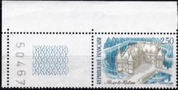 Frankreich, 1987, Mi.Nr. 2607, MNH **,  Tourisme : Château D'Azay-le-Rideau - Unused Stamps