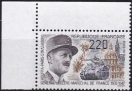 Frankreich, 1987, Mi.Nr. 2634, MNH **,  Philippe Leclerc De Hauteclocque. - Unused Stamps