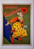 CPSM Reprod. GUIGNOLET COINTREAU Angers - Affiche (Eugène OGE 1907) Bibl. Forney (2 Scans) /alcool Vin Label /E416 - Other