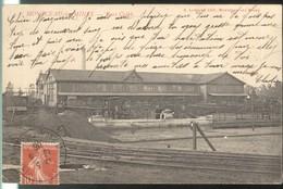 CPA Montceau Les Mines - Port Crible - Circulée 1908 - Montceau Les Mines