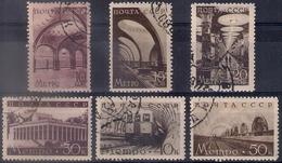 Russia 1938, Michel Nr 646-51, Used - Usati