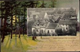 Passepartout Cp Ettersburg Thüringen, Gasthof Waidmann's Heil, Vorderseite - Sonstige