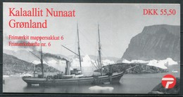 Grönland Mi# MH 6 Postfrisch MNH - Ships - Carnets