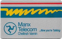 Isle Of Man - Chip - Definitive - Cn. 1IOMEMK - 21U, 1994, 20.000ex, Used - Man (Eiland)