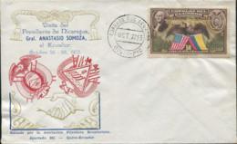 Ref. 622579 * NEW *  - ECUADOR . 1943. VICEPRESIDENT H.A.WALLACE VISIT. VISITA DEL VICEPRESIDENTE H.A.WALLACE - Ecuador