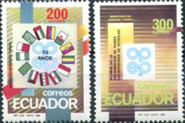 Ref. 309021 * NEW *  - ECUADOR . 1990. 30 YEARS OF THE ORGANIZATION OF OIL EXPORTING COUNTRIES. 30 A�OS DE LA ORGANIZAC - Ecuador
