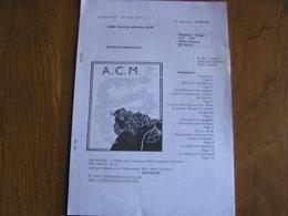 A.C.M .Feuillet N° 36 Guerre 14 18 Auto Canon Mitrailleuse ACM Auto Blindée Russie ASBL Souci De La Mémoire - Oorlog 1914-18