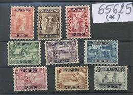 270/273 (*) 1930.  Goutte De Lait 81/89 Neuf Sans Colle. Cote 75,--€ - 1924-44: Neufs