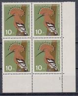 BUND - Michel - 1963 - Nr 401 (nr. Platte 1 /Viererblock) - MNH** - [7] République Fédérale