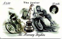 Isle Of Man - Chip - The Mercury Trophies - The Junior - 33U, 1999, 10.000ex, Used - Man (Ile De)