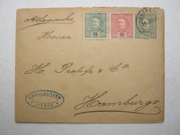 1899, Lettre ,  - Allemagne, - 1910 : D.Manuel II