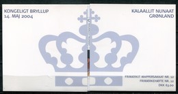 Grönland Mi# MH12 Postfrisch MNH - Royal Wedding - Carnets