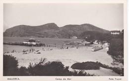 POSTAL DE CAMP DE MAR - PLAYA DE CAMP DE MAR DEL AÑO 1951 (FOTO TRUYOL) MALLORCA - Mallorca