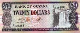 GUYANA 20 DOLLARS 2010  P-30e.2  UNC - Guyana