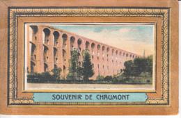 ** CARTE A SYSTEME ** 52 - CHAUMONT : Souvenir De Chaumont ( Dépliant Intérieur Avec 10 Vues ) CPA - Haute Marne - Cartoline Con Meccanismi