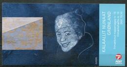 Grönland Mi# MH16 Postfrisch MNH - EUROPA CEPT, Letter Writing - Carnets