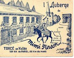 S 3  -  271 - 272   -     TORCE - En - VALLEE        -    ( 72 )  -    L' Auberge  De Mimi  Pinson   - - Autres Communes