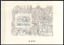 2015 Slovakia - Kulturhaus In Skalica; Von Dušan Jurkovia - Numbered Black Print Of Mi B 47 Architecture Litography - Slowakische Republik