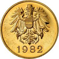 Autriche, Jeton, Hauptmunzamt, Wien, 1982, SPL, Copper-Brass - Autres