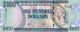 GUYANA 100 DOLLARS 2009  P-36b.1  UNC - Guyana