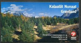 Grönland Mi# MH19 Postfrisch MNH - EUROPA CEPT, Flora Trees - Carnets