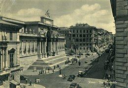 Roma - Via Nazionale  (viaggiata In Busta) - Transports
