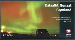 Grönland Mi# MH20 Postfrisch MNH - EUROPA CEPT, Northern Lights - Carnets