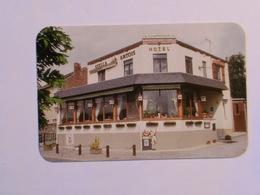 Carte De Visite Restaurant Le Champerdrix Bas-Oha Wanze - Cartes De Visite
