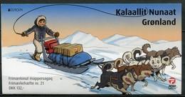 Grönland Mi# MH21 Postfrisch MNH - EUROPA CEPT, Postal Service - Carnets