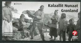 Grönland Mi# MH22 Postfrisch MNH - EUROPA CEPT, Traditional Music Dances - Carnets