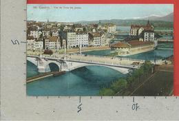 CARTOLINA VG SVIZZERA - GENEVE - Vue De Tous Les Ponts - 9 X 14 - 1911 - GE Ginevra
