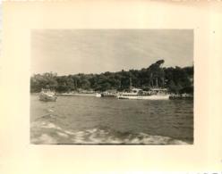 ILE SAINT HONORAT  1956 PHOTO ORIGINALE 10.50 X 8.50 CM - Orte