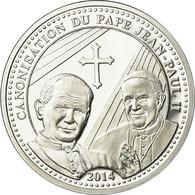 Vatican, Médaille, Canonisation De Jean Paul II, 2014, FDC, Argent - Autres