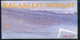Grönland Mi# Weihnachts-MH 3 Postfrisch MNH - Christmas - Carnets