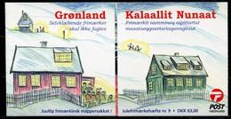 Grönland Mi# Weihnachts-MH 9 Postfrisch MNH - Christmas - Carnets