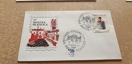 1972 Bergamo Esposizione Filatelica E Numismatica Raduno Filatelico Mostra Expo Annullo - Other