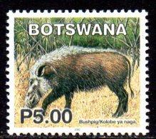 2002 Botswana, Faune, Phacochère - Botswana (1966-...)