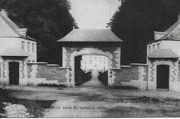 CHAUMONT GISTOUX. BONLEZ. ENTREE DE L'AVENUE DU CHATEAU - Chaumont-Gistoux