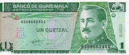 GUATEMALA 1 QUETZAL 1996 P-97a  UNC - Guatemala