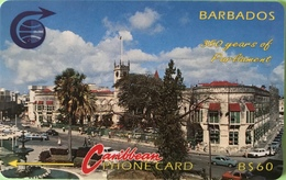 BARBADES  -  Prepaid  - Cable § Wireless -  350 Years Of Parliament   -  B $ 60 - Barbados