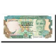 Billet, Zambie, 20 Kwacha, KM:32b, SPL - Zambie