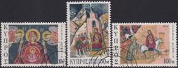 Cyprus 1974 SG #436-38 Compl.set Used Christmas - Cyprus (Republic)
