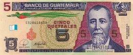 GUATEMALA 5 QUETZALES 2008  P-116  XF-AUNC. - Guatemala