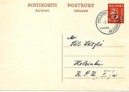 Entier Postal Surchargé Obliteré 1948 - Enteros Postales