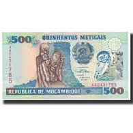 Billet, Mozambique, 500 Meticais, 1991, 1991-06-16, KM:134, SPL - Mozambique